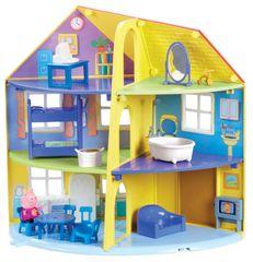 TM Toys Peppa Pig Rodinný dům s příslušenstvím