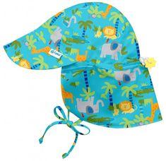 iPlay Dětský klobouček proti slunci JUNGLE UV 50+