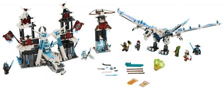 LEGO Ninjago 70678 Grad pozabljenega cesarja