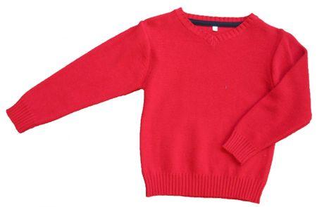 Carodel fantovski pulover, 140, rdeč
