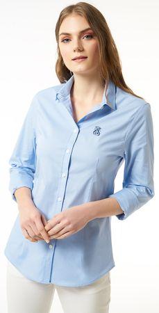 Jimmy Sanders koszula damska XL niebieska