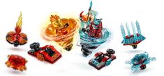 LEGO Ninjago 70684 Trening Spinjutsu - Kai vs. Samuraj