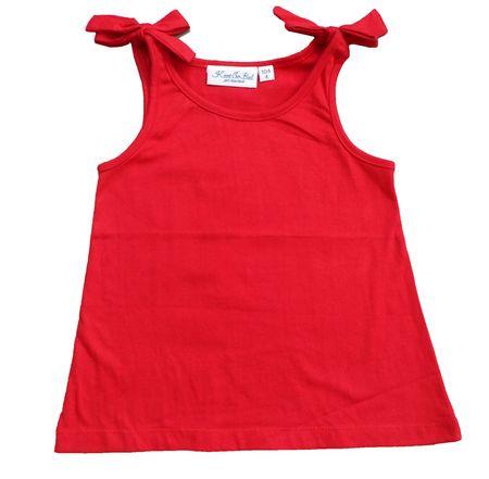Carodel dekliška majica, 140, rdeča