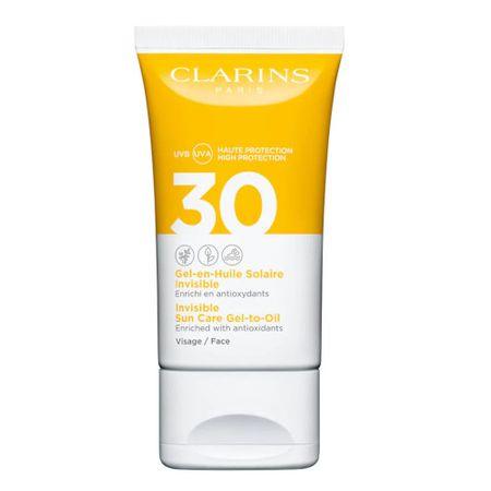 Clarins Zselés állagú napozó olajSPF 30 (Invisible Sun Care Gel-to-Oil) 50 ml