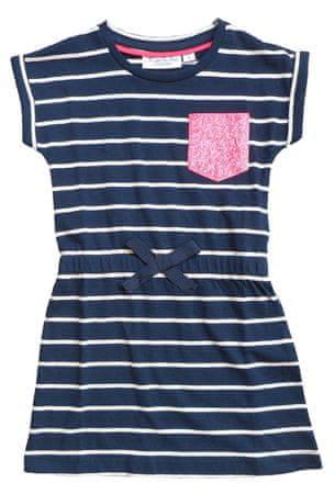 Carodel dívčí šaty 140 modrá