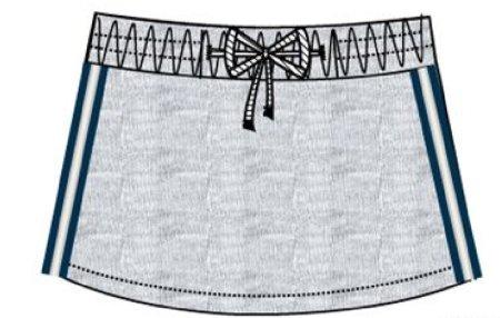 Carodel spódnica dziewczęca 152 szara