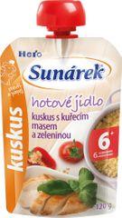 Sunárek Kuskus s kuracím mäsom a zeleninou 2x120g