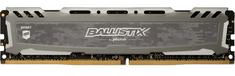 Crucial memorija (RAM) Ballistix Sport LT 8GB, DDR4, 3200MT/s, DIMM, CL16 (BLS8G4D32AESBK)