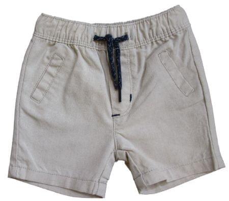 Carodel chlapecké šortky 68 béžová