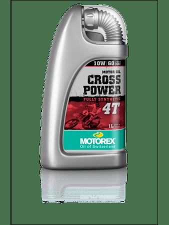 Motorex motorno olje Cross Power 4T 10W60, 1L
