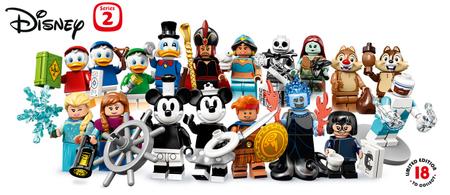 LEGO Disney minifigurák 71024 – 2. széria