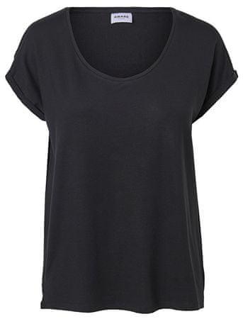 Vero Moda Női póló Cina Ss U-nyakú Vma Black (méret S)