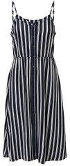 Vero Moda Dámske šaty Sasha Singlet Dress Noos Navy Blazer Snow White Coco