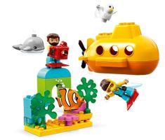 LEGO zestaw DUPLO 10910 Przygoda w łodzi podwodnej