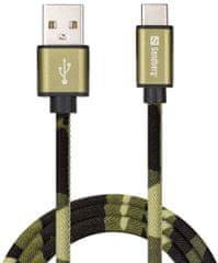 Sandberg USB-C Green Camouflage 441-14