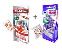 Power Air Fresh Sachet & Anti Mol