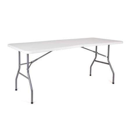 Happy Green zložljiva miza OBLO, 180 x 74 x 74 cm