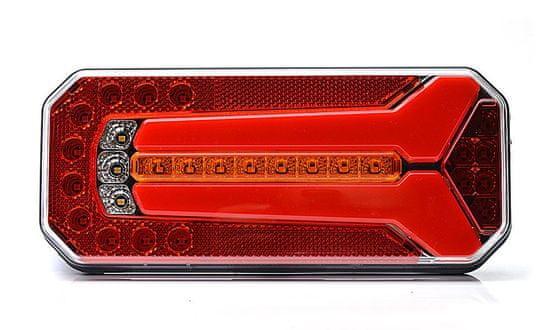 WAS Sdružené světlo W150(1123DD)bezSPZ,AUDI blinkr,LED