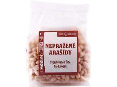 Bio nebio Bio arašidy lúpané nepražené 200g