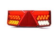 WAS Združené svetlo zadné LED W137DL ľavej, WAS