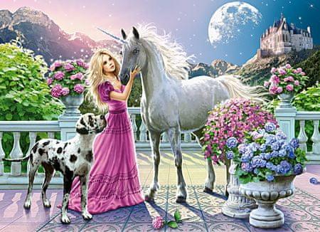 Castorland Puzzle 300 db My Friend Unicorn