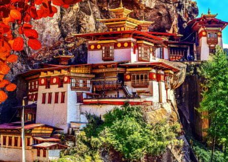 Blue Bird Puzzle 500 db Taktsang, Bhutan