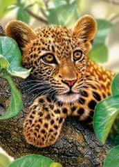 Castorland Leopard na strome 180 dielikov