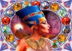 Blue Bird Puzzle 1000 pieces Nefertiti