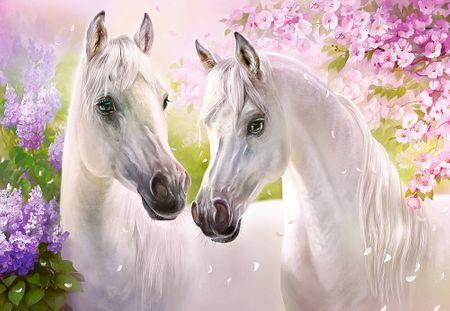 Castorland Puzzle 1000 db Romantic Horses