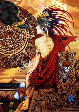 Blue Bird Puzzle 1500 db Aztec Dawn