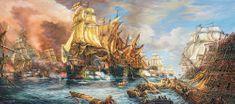 Castorland Battle at the sea 600 dielikov