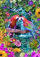 Blue Bird Puzzle 1500 dílků Parrot Paradise