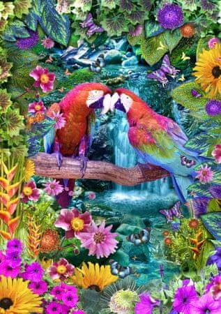 Blue Bird Puzzle 1500 db Parrot Paradise