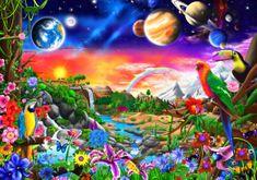 Blue Bird Cosmic Paradise 1000 dielikov
