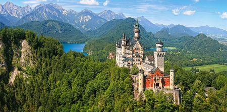 Castorland Puzzle 4000 db Neuschwanstein, Germany