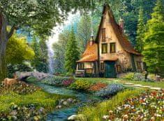 Castorland Toadstool cottage 2000 dielikov