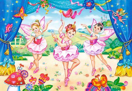 Castorland Maxi Puzzle : Les petites ballerines