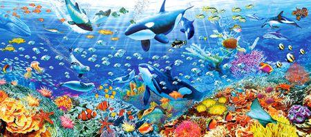 Castorland Puzzle 600 db Underwater Paradise
