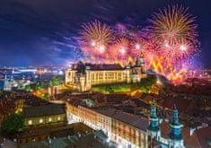 Castorland Fireworks over Wawel Castle, Poland 500 dielikov