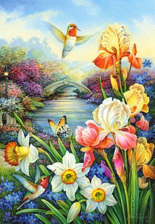 Castorland Puzzle 1500 db Golden Irises