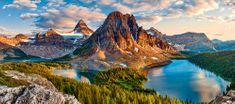 Castorland Assiniboine Sunset, Banff Nationalpark, Kanada 600 dielikov