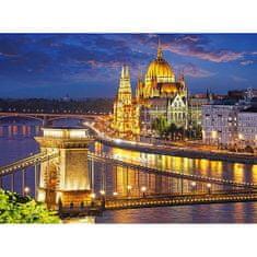 Castorland Budapešť v šere 2000 dielikov