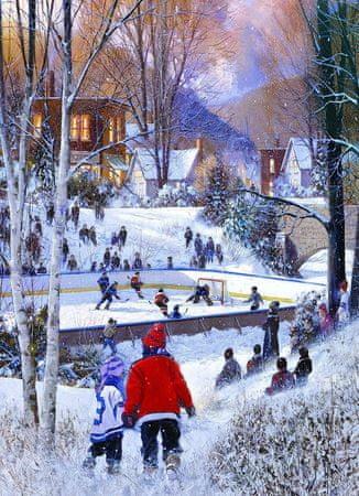 EuroGraphics Puzzle 1000 db Doug Laird: Hockey-Saison