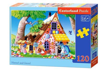 Castorland Puzzle 120 dílků Hansel and Gretel