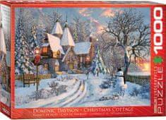 EuroGraphics Davison: Christmas cottage 1000 dielikov
