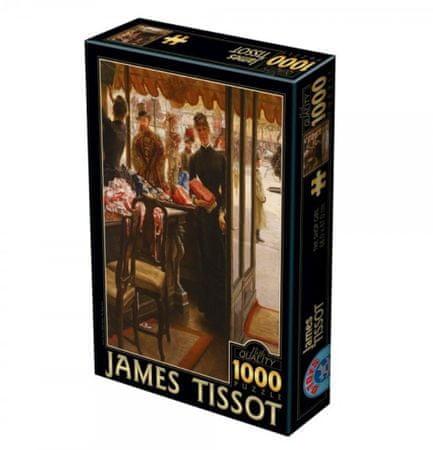 D-Toys Puzzle 1000 db James Tissot - The Shop Girl