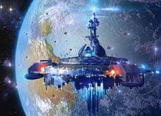 Castorland Puzzle 120 db Alien Spaceship