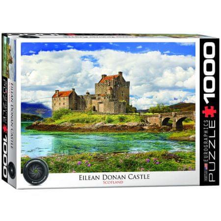 EuroGraphics Puzzle 1000 db Eilean Donan Castle Scotland