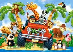 Castorland Softies on safari II 60 dielikov