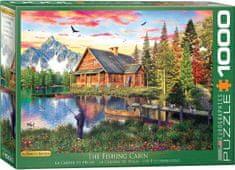 EuroGraphics Puzzle 1000 db Dominic Davison - The Fishing Cabin